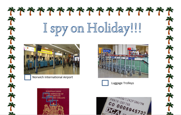 FREE download of I-spy at the airport